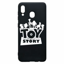 Чехол для Samsung A30 Toy Story and heroes