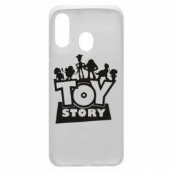 Чехол для Samsung A40 Toy Story and heroes