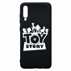 Чехол для Samsung A70 Toy Story and heroes