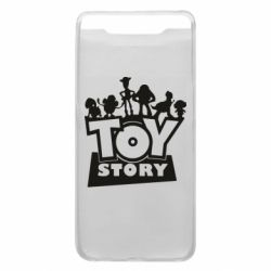 Чехол для Samsung A80 Toy Story and heroes
