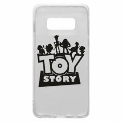 Чехол для Samsung S10e Toy Story and heroes