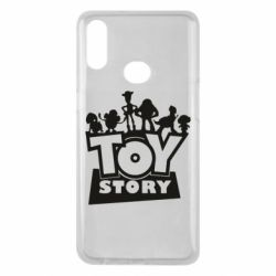 Чехол для Samsung A10s Toy Story and heroes