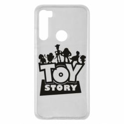 Чехол для Xiaomi Redmi Note 8 Toy Story and heroes