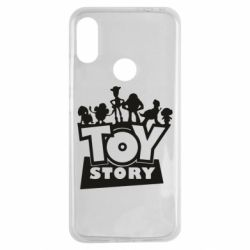 Чехол для Xiaomi Redmi Note 7 Toy Story and heroes