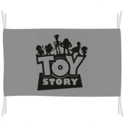 Флаг Toy Story and heroes