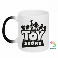Кружка-хамелеон Toy Story and heroes