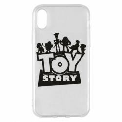 Чехол для iPhone X/Xs Toy Story and heroes