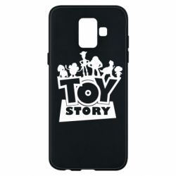 Чехол для Samsung A6 2018 Toy Story and heroes