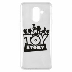 Чехол для Samsung A6+ 2018 Toy Story and heroes
