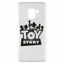 Чехол для Samsung A8 2018 Toy Story and heroes