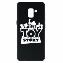 Чехол для Samsung A8+ 2018 Toy Story and heroes