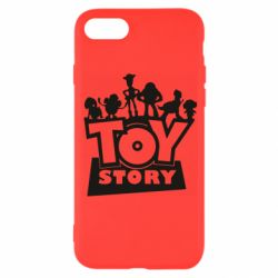 Чехол для iPhone 8 Toy Story and heroes