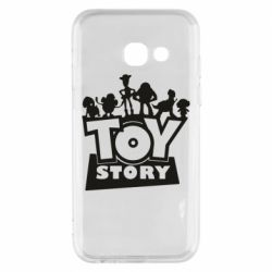 Чехол для Samsung A3 2017 Toy Story and heroes