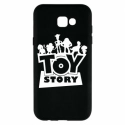 Чехол для Samsung A7 2017 Toy Story and heroes