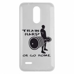 Чехол для LG K7 2017 Train Hard or Go Home - FatLine