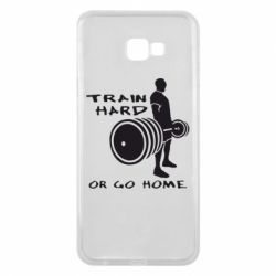 Чехол для Samsung J4 Plus 2018 Train Hard or Go Home - FatLine