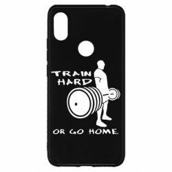 Чехол для Xiaomi Redmi S2 Train Hard or Go Home