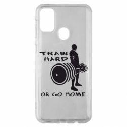 Чехол для Samsung M30s Train Hard or Go Home