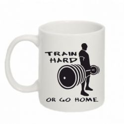 Кружка 320ml Train Hard or Go Home - FatLine