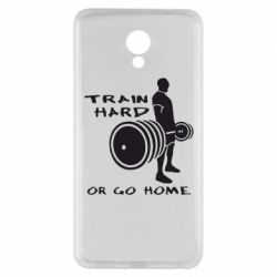 Чехол для Meizu M5 Note Train Hard or Go Home - FatLine