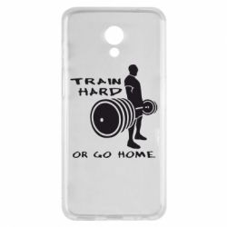 Чехол для Meizu M6s Train Hard or Go Home - FatLine