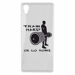 Чехол для Sony Xperia X Train Hard or Go Home - FatLine