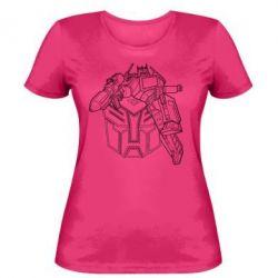 Женская футболка Трансформер 3