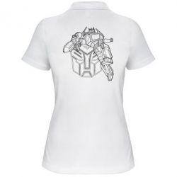 Женская футболка поло Трансформер 3