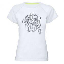 Женская спортивная футболка Трансформер 3