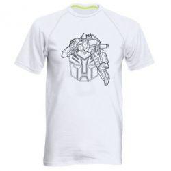 Мужская спортивная футболка Трансформер 3