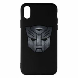 Чохол для iPhone X/Xs Transformers Logo