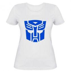 Женская футболка Трансформеры Автоботы - FatLine