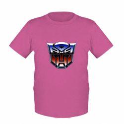Детская футболка Трансформеры Лого 1