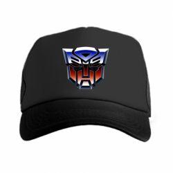 Кепка-тракер Трансформеры Лого 1
