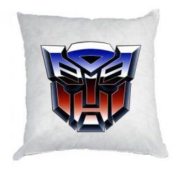 Подушка Трансформери Лого 1