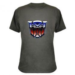 Камуфляжна футболка Трансформери Лого 1