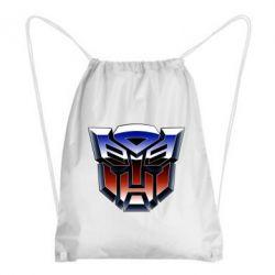 Рюкзак-мішок Трансформери Лого 1