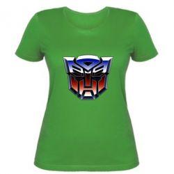 Женская футболка Трансформеры Лого 1
