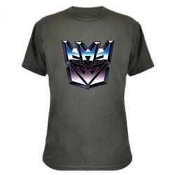 Камуфляжная футболка Трансформеры Лого 2