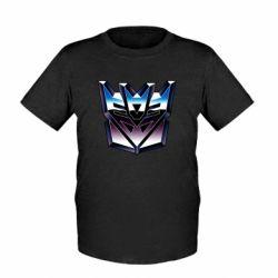 Детская футболка Трансформеры Лого 2