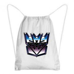 Рюкзак-мешок Трансформеры Лого 2