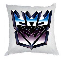 Подушка Трансформеры Лого 2