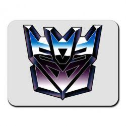 Коврик для мыши Трансформеры Лого 2