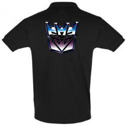 Мужская футболка поло Трансформеры Лого 2