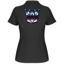 Женская футболка поло Трансформеры Лого 2