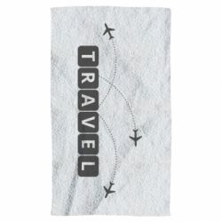 Полотенце Travel and airplanes