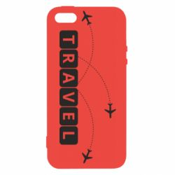 Чехол для iPhone5/5S/SE Travel and airplanes
