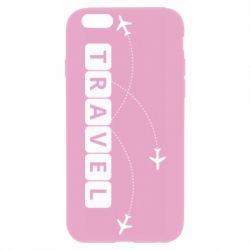 Чехол для iPhone 6/6S Travel and airplanes