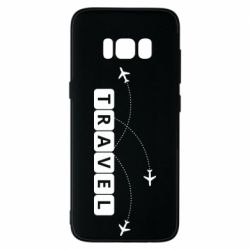 Чехол для Samsung S8 Travel and airplanes