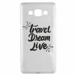 Чехол для Samsung A5 2015 Travel Dream Live